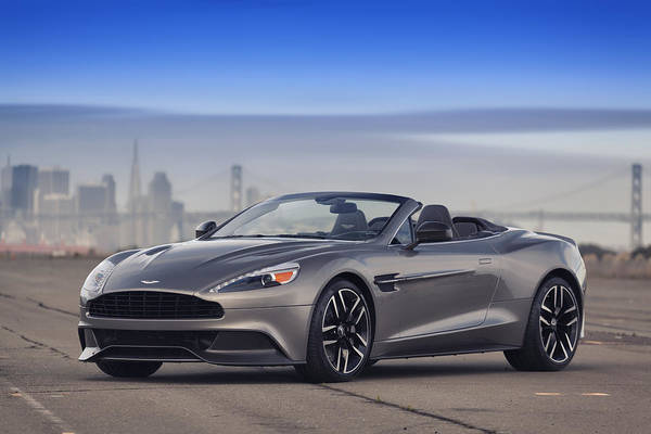 Photograph - Aston Vanquish Convertible by ItzKirb Photography