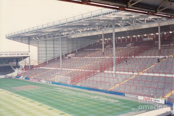 Wall Art - Photograph - Aston Villa - Villa Park - Holte End 2 - April 1991 by Legendary Football Grounds