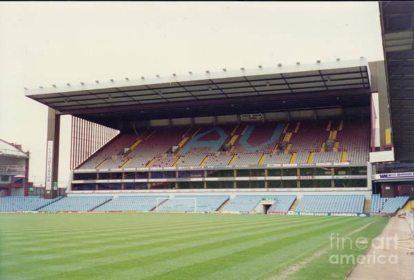 Wall Art - Photograph - Aston Villa - Villa Park - North Stand 1 - April 1993 by Legendary Football Grounds