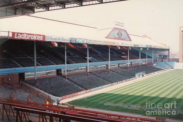 Wall Art - Photograph - Aston Villa - Villa Park - West Stand Trinity Road 1 - Leitch - April 1991 by Legendary Football Grounds