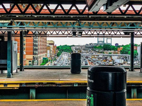 Photograph - Astoria Boulevard Stop by Cate Franklyn