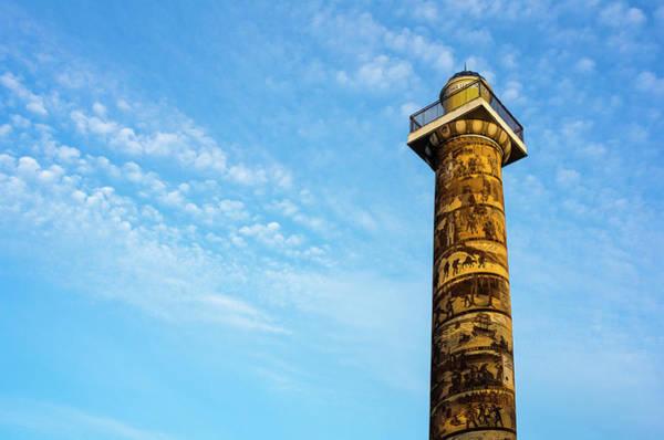 Photograph - Astoria Column And Sky by Robert Potts
