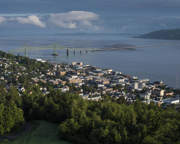Photograph - Astoria From Coxcomb Hill by Robert Potts