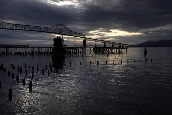 Photograph - Astoria-megler Bridge by Lee Santa