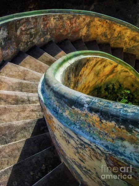 Asylum Staircase Art Print