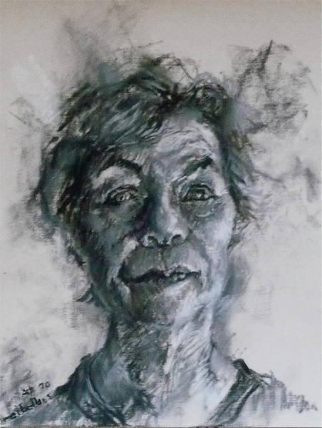 Drawing - At 70 by Ellen Dreibelbis