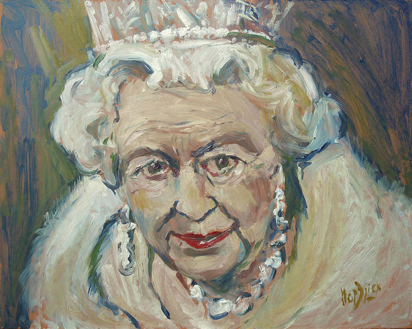 Painting - At Age Still Reigning by Nop Briex