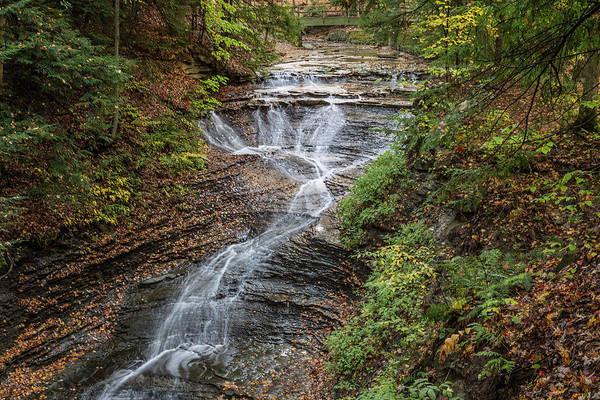 Wall Art - Photograph - At Bridal Veil Falls by Dale Kincaid