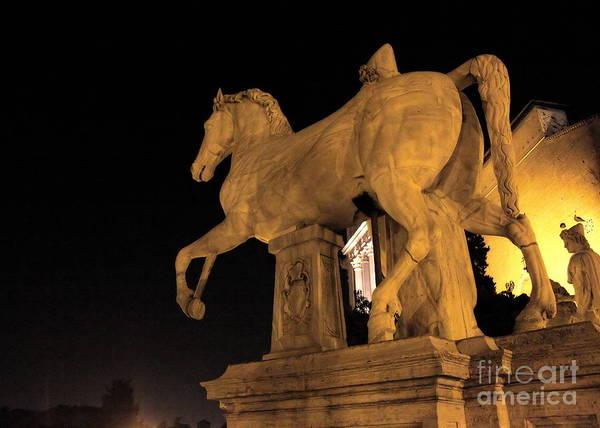 Photograph - At Campidoglio by Angela Rath