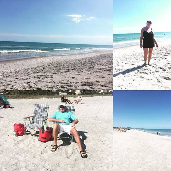 Photograph - At #capecanaveral Beach Today With by Melissa Abbott