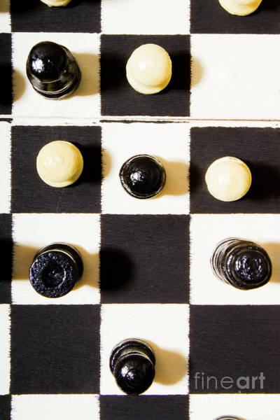 Leadership Wall Art - Photograph - At Chequered Play by Jorgo Photography - Wall Art Gallery