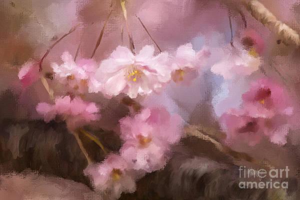 Digital Art - At First Blush by Lois Bryan