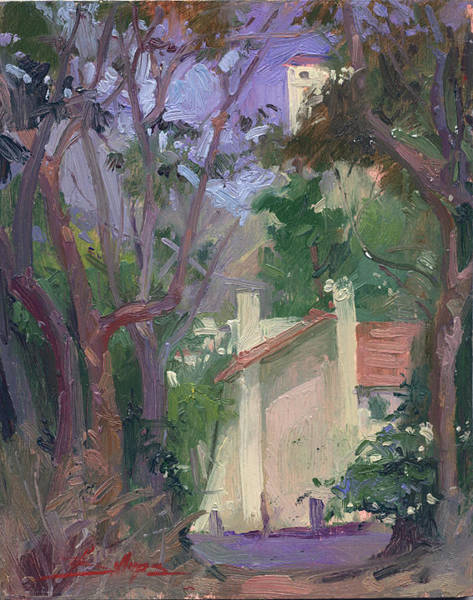 Painting - At Jourey's End Plein Air by Betty Jean Billups