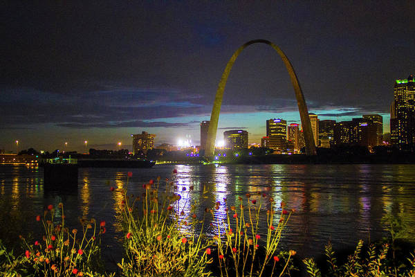 Photograph - At Louis At Night by Garry McMichael