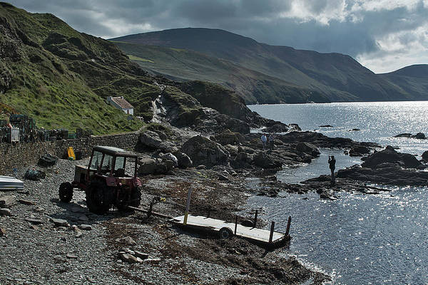 At Niarbyl Point Art Print by Steve Watson