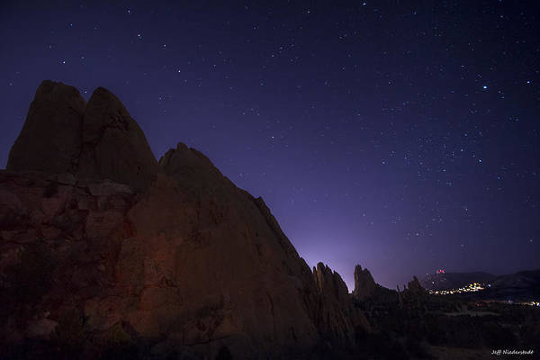 Photograph - At Night by Jeff Niederstadt