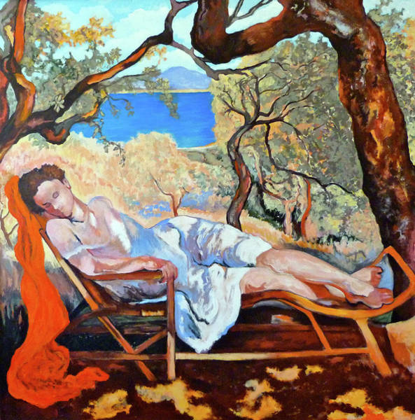 Roderick Painting - At Peace by Tom Roderick
