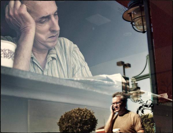 Peet Photograph - At Peet's Coffeeshop by Michel Verhoef