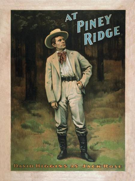 Mixed Media - At Piney Ridge The Play 1897 by Movie Poster Prints