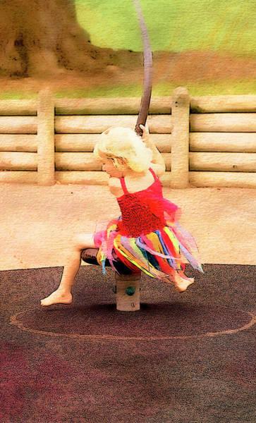 Digital Art - At Play 1 by Kathryn McBride