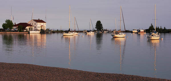 Photograph - At Rest In The Grand Marais, Mn Harbor by David Lunde