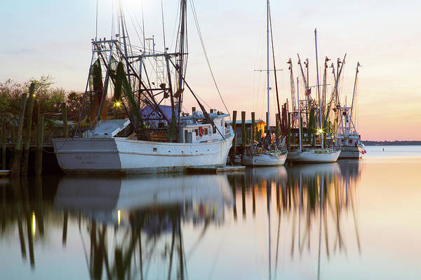 Photograph - At Rest - Shem Creek by Donnie Whitaker