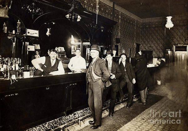 Flapper Photograph - At The Bar by Jon Neidert