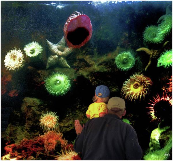Photograph - At The Aquarium by Wayne King
