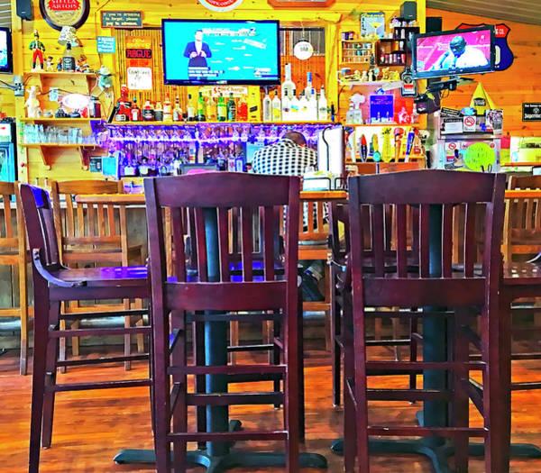 Photograph - At The Bar by Susan Leggett