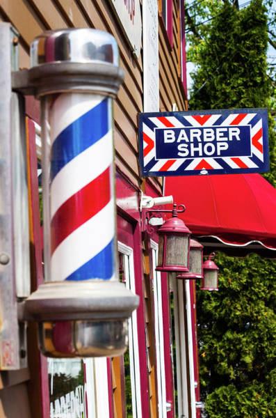 Wall Art - Photograph - At The Barber Shop by Karol Livote