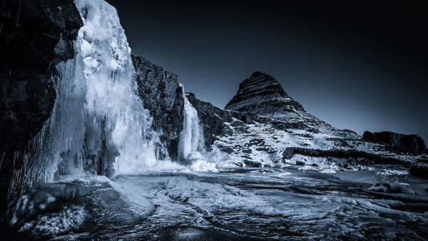 Photograph - At The Base Of The Falls by James Billings