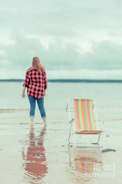 Field Trip Photograph - At The Beach New London Prince Edward Island by Edward Fielding