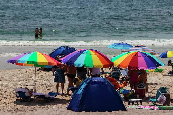 Photograph - At The Beach On Fire Island by Bob Slitzan