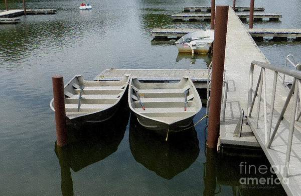 Photograph - At The Dock by Kathie Chicoine