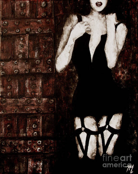 Painting - At The Door by Tim Musick