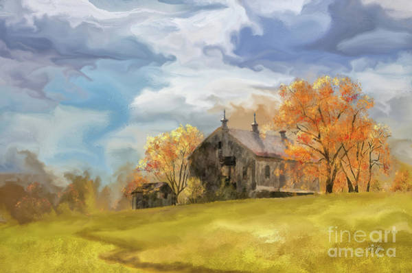 Cupola Digital Art - At The Edge Of Antietam by Lois Bryan