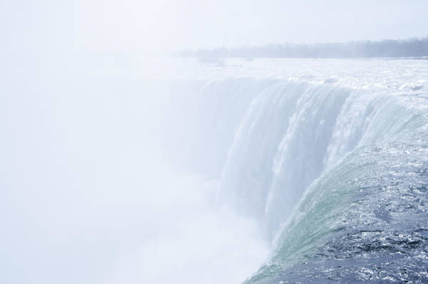 Photograph - At The Edge Of Horseshoe Falls  by Bill Cannon
