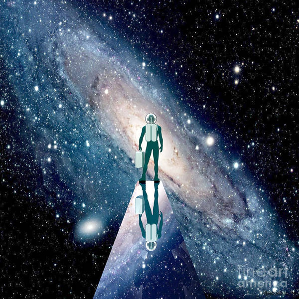 Digital Art - Space. The New Frontier by Walter Neal