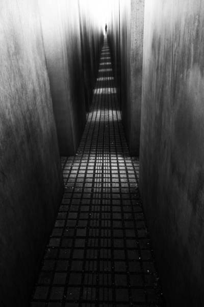 Alley Wall Art - Photograph - At The End Of The Path by Christian Muller