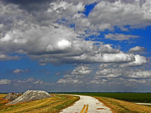 Lake Okeechobee Wall Art - Photograph - At The End Of The Road To Nowhere by Elizabeth Hoskinson