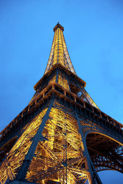 Photograph - At The Foot Of The Eiffel Tower by Jani Freimann