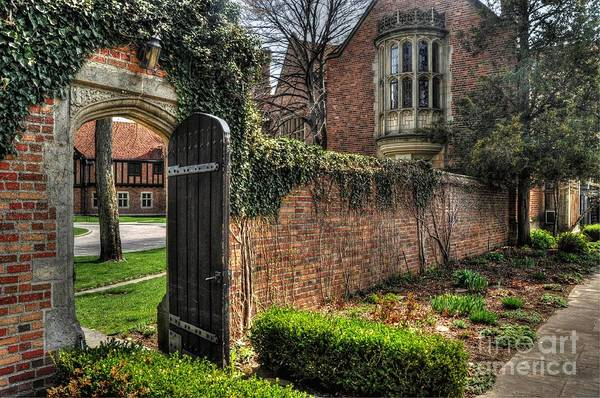 Meadowbrook Photograph - At The Gate by Chris Fleming