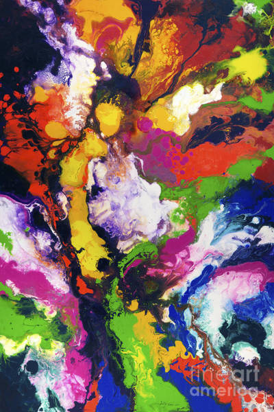 Painting - At The Heart Of It by Sally Trace