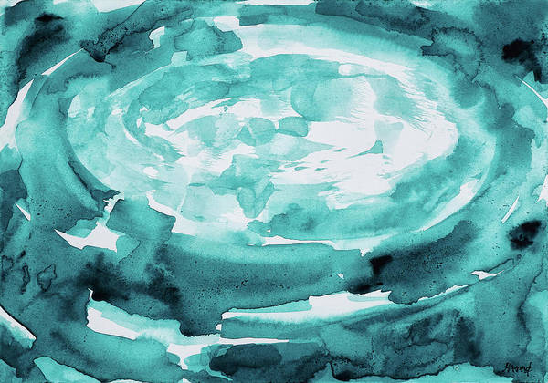 Painting - At The Heart Of The Lagoon by Maria Arnaudova