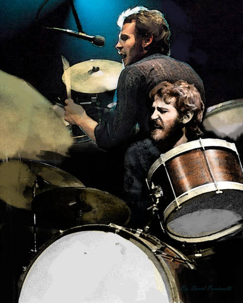Wall Art - Painting - The Helm  Levon Helm  by Iconic Images Art Gallery David Pucciarelli
