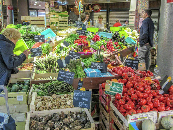 Wall Art - Photograph - At The Market by W Chris Fooshee