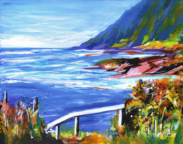 Painting - At The Ocean On A Perfect Day Like This by Tanya Filichkin