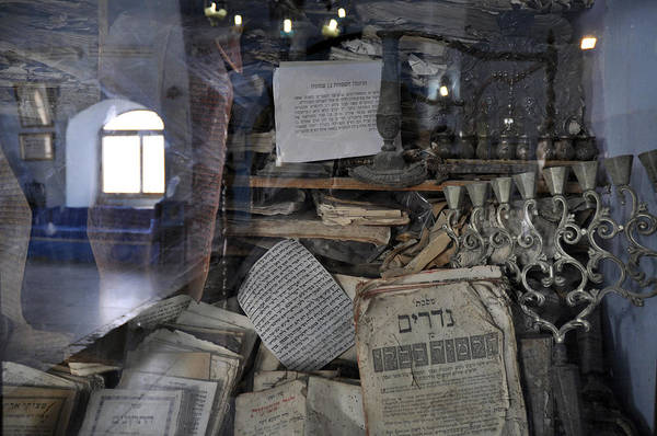 Photograph - At The Old Tample Of Safed  by Dubi Roman