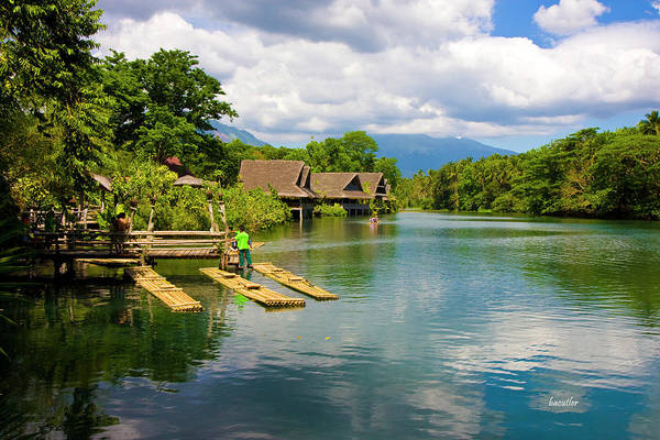 Philippines Photograph - At The Plantation by Betsy Knapp