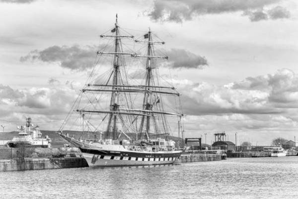 Photograph - At The Port In Greenock, Scotland by Jeremy Lavender Photography